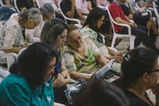 Evento teve cunho exclusivamente espiritual, com ênfase na missão.