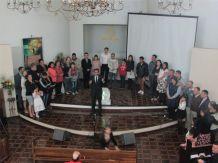 Batismos ocorreram pela ação do Espírito Santo no coração das pessoas através do envolvimento dos membros locais