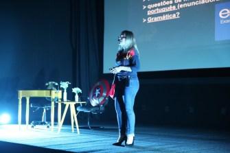 Professores realizaram mini palestras interativas com os estudantes.[Foto: Paulo Ribeiro].