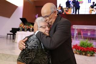 Martins homenageia sua mãe