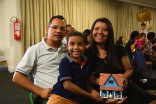 Pr. Glauberto e família