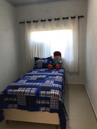 As crianças também ganharam quartos mobiliados