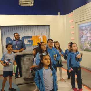 Passeio pedagógico resulta em homenagem a jornalistas da Globo (Foto: arquivo)