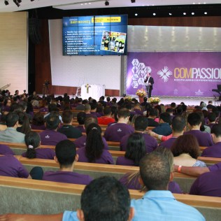 Compassion 2018 reuniu cerca de 800 participantes