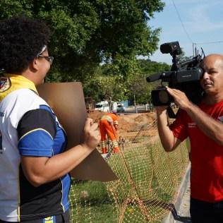 TV Tribuna, afiliada do SBT no Estado, cobriu a iniciativa
