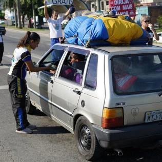 Ação foi realizada no Espírito Santo, na BR 101, em trecho conhecido como um dos mais perigosos do Brasil