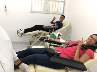 Doação de sangue em Ilhéus