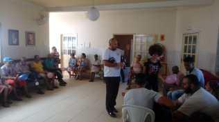 Visita a asilo em Ipiaú
