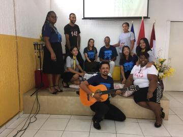 Dia Mundial do Jovem Adventista também foi celebrado nas igrejas (Foto: Divulgação)