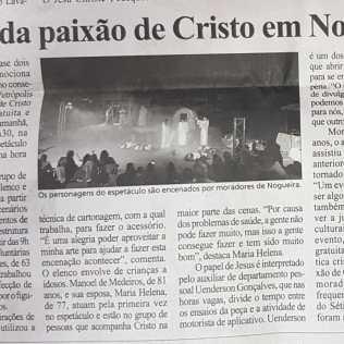 Destaque no Diário de Petrópolis.