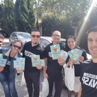 Ministério Adventista de Surdos do Unasp em distribuição do Impacto Esperança