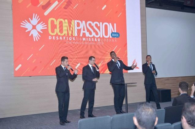 Quarteto Arautos do Rei abriu o Compassion para pastores (Foto: Acervo APL)