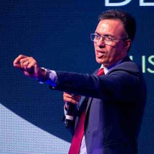 Pastor Alacy Barbosa foi um dos principais palestrantes do evento
