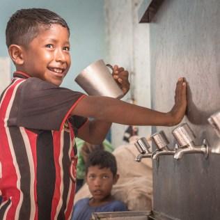 Crianças são grande alvo dos projetos. (Foto: Miguel Roth)