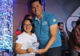Líderes de equipe receberam troféu como forma de reconhecimento e gratidão (Foto: Maxwell Santana)