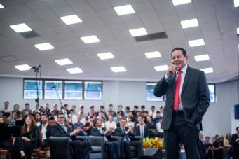 Mourão falou aos estudantes e ressaltou o papel deles em transformação do País.