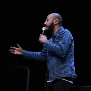 Pastor Tiago Rodrigues foi um dos oradores.