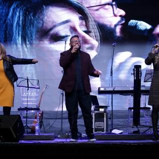 Art Trio se apresentou na vigília.