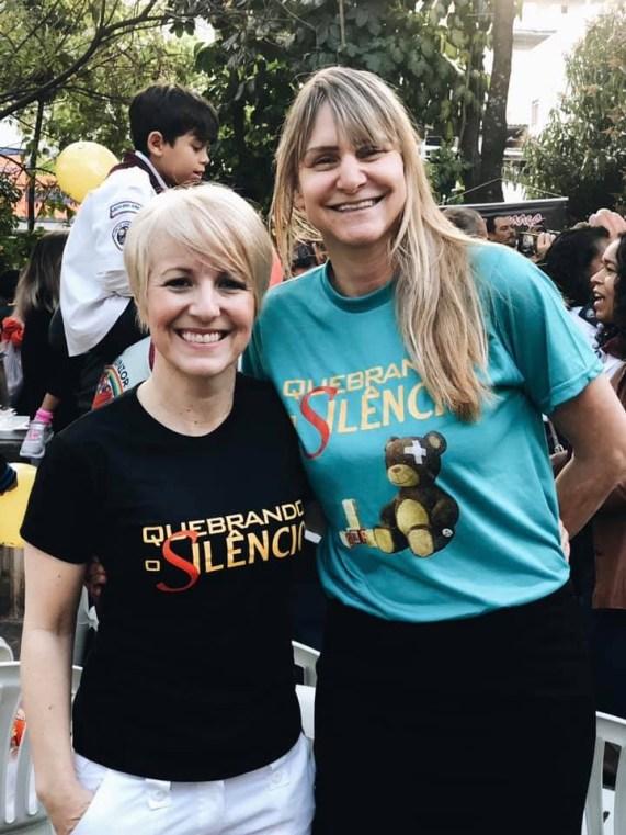Deputada estadual dra. Damaris Moura e Marziane Guimarães, líder do Ministério da Mulher da APL