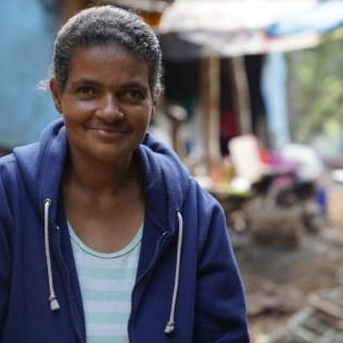 Edileia, participante do projeto (Crédito: Danúbia França)