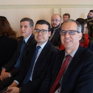 Líderes da IASD no centro do estado acompanharam a sanção