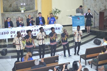 Vocal Kuimba, do Unasp (Foto: Elvis Natali)