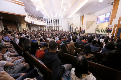 Igreja Central de Londrina. (Foto: Gustavo Cidral)
