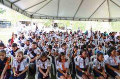 Cerca de 150 aventureiros participaram das atividades. [Fotos: Deise Elen]
