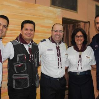 Líderes da APL marcaram presença no Aventuri (Foto: Gabriela Victorio)
