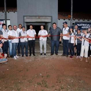 Inauguração da escola. (Foto: Dinei Avelar)