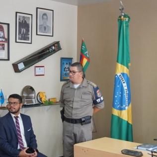 Tenente-coronel aprovou a iniciativa dos adventistas. (Foto: Divulgação)