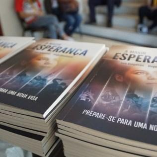 Cada livro recebeu uma dedicatória. (Foto: Divulgação)