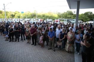 Cerca de 300 pessoas acompanharam a inauguração