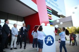 Cerimônia de abertura da caixa contou com a presença do prefeito de Canoas