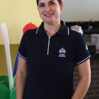 Lidiane Vieira Lima, técnica em Magistério. É monitora da EAP. Atua na Educação Adventista há 1 ano e meio. (Foto: Renata Paes)