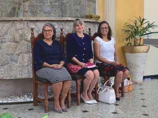 Líder do Ministério da Mulher da Associação Paulista Leste, Marziane Guimarães participou do encerramento dos 10 Dias de Oração na Igreja Adventista de Itaim Paulista, zona leste de São Paulo (Foto: Arquivo Pessoal).