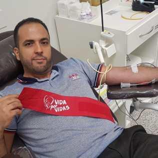 Doação de Sangue em São José do Rio Preto. Foto: colaborador local