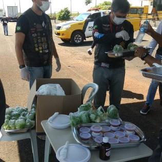 Ação foi realizada pelo AMM de Maringá. (Foto: Marcos Pereira)