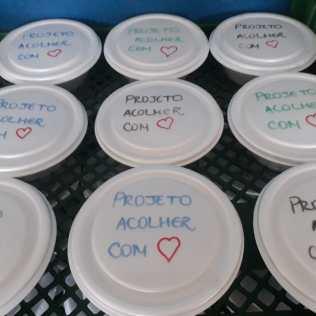 Mais de 30 marmitas foram entregues em um dia na cidade de Canoas