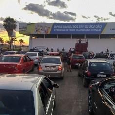 Culto drive in Senador Canedo-04