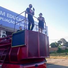 Culto drive in Senador Canedo-11