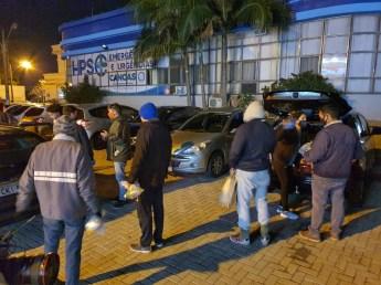 O HPS é um dos pontos de maior movimento de moradores de rua