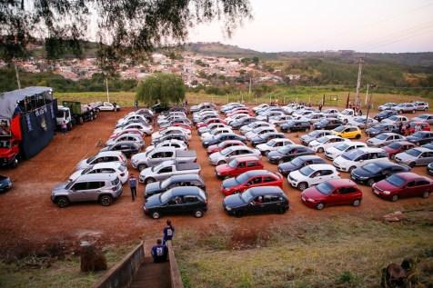 Cerca de 150 carros estiveram no evento. (Foto: Gustavo Cidral)