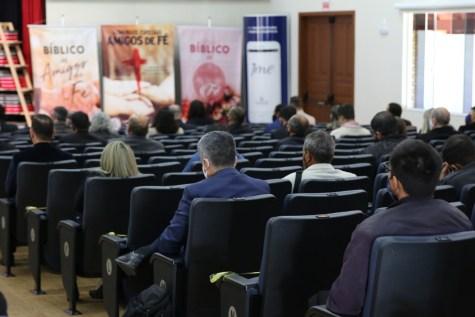 Evento teve limitação de participantes, por isso apenas os líderes distritais participaram o evento