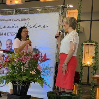 Evento reforçou importância da evangelização. [Foto: Ana Luiza Ávila de Andrade].