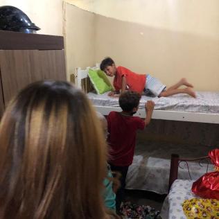 quarto dos filhos