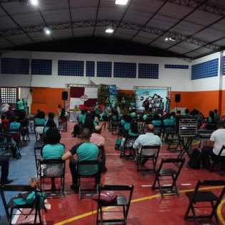 Celebração marcou gratidão pelos resultados da Missão Calebe em 2021 no sul da Bahia. (Foto: Alexon Demétrio)