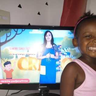 Ana Luísa (3) é de Vista Alegre-RJ.