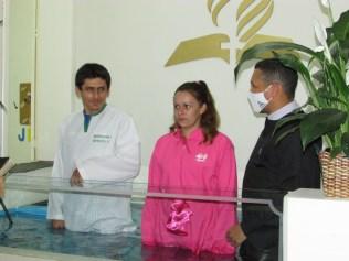 Batismo Adriano e Mariane