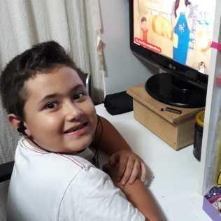 Davi (7) é de Petrópolis-RJ.